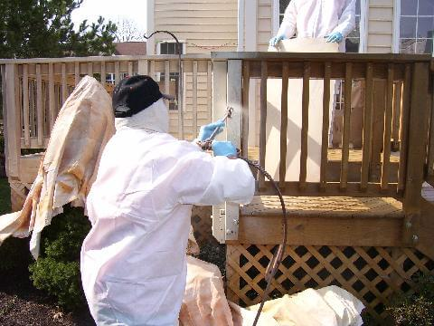 deck staining germantown md