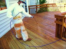 deck staining silver spring va