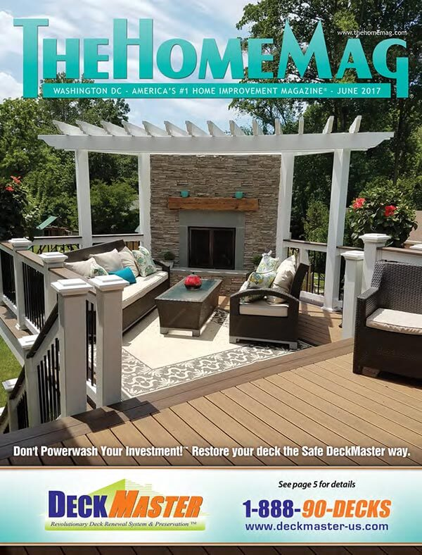 Professional Deck Builder Reston featured in magazine
