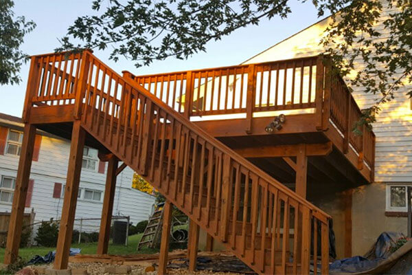 deck construction germantown maryland