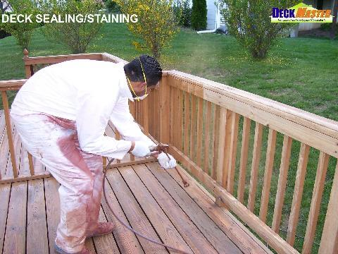 deck sealing and staining gaithersburg md