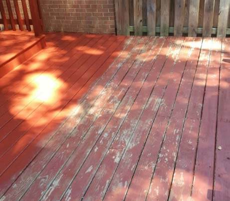 deck staining and painting maryland