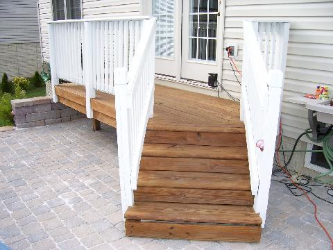 stairs and custom porch gaithersburg md