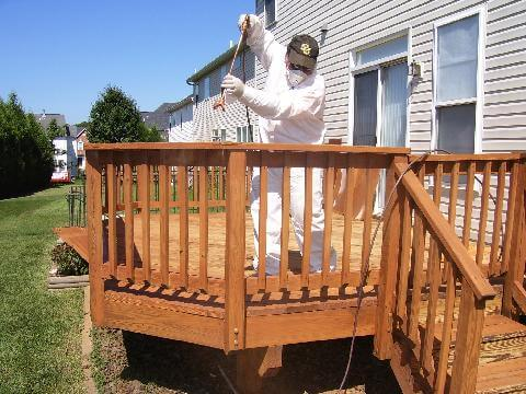 deck staining and sealing gaithersburg md