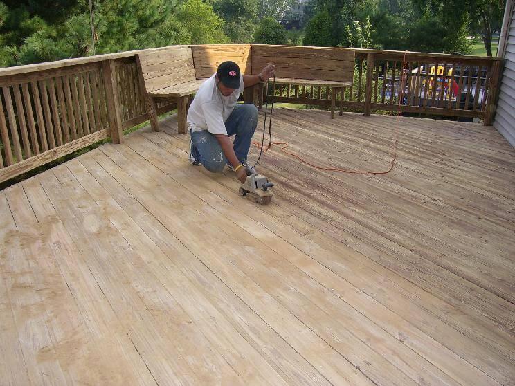 Deck Sanding Gaithersburg, MD