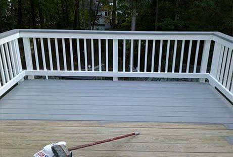 deck sealing