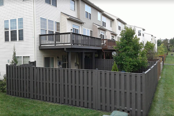 composite fence construction maryland
