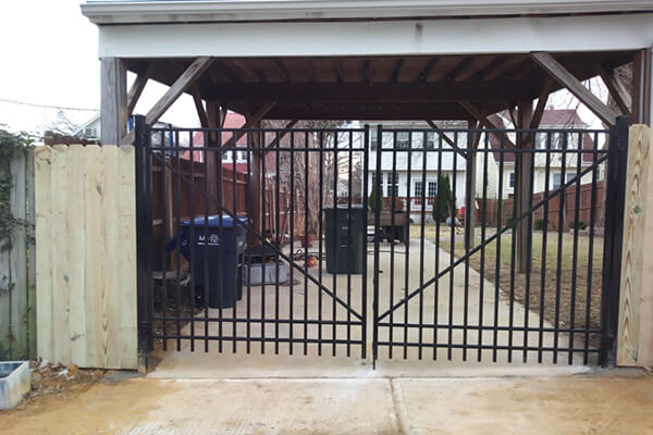 aluminum fence builder montgomery county md